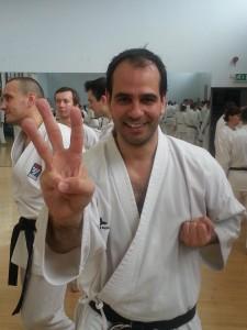 Fernando Mahamud (3rd Dan Seiwakai)