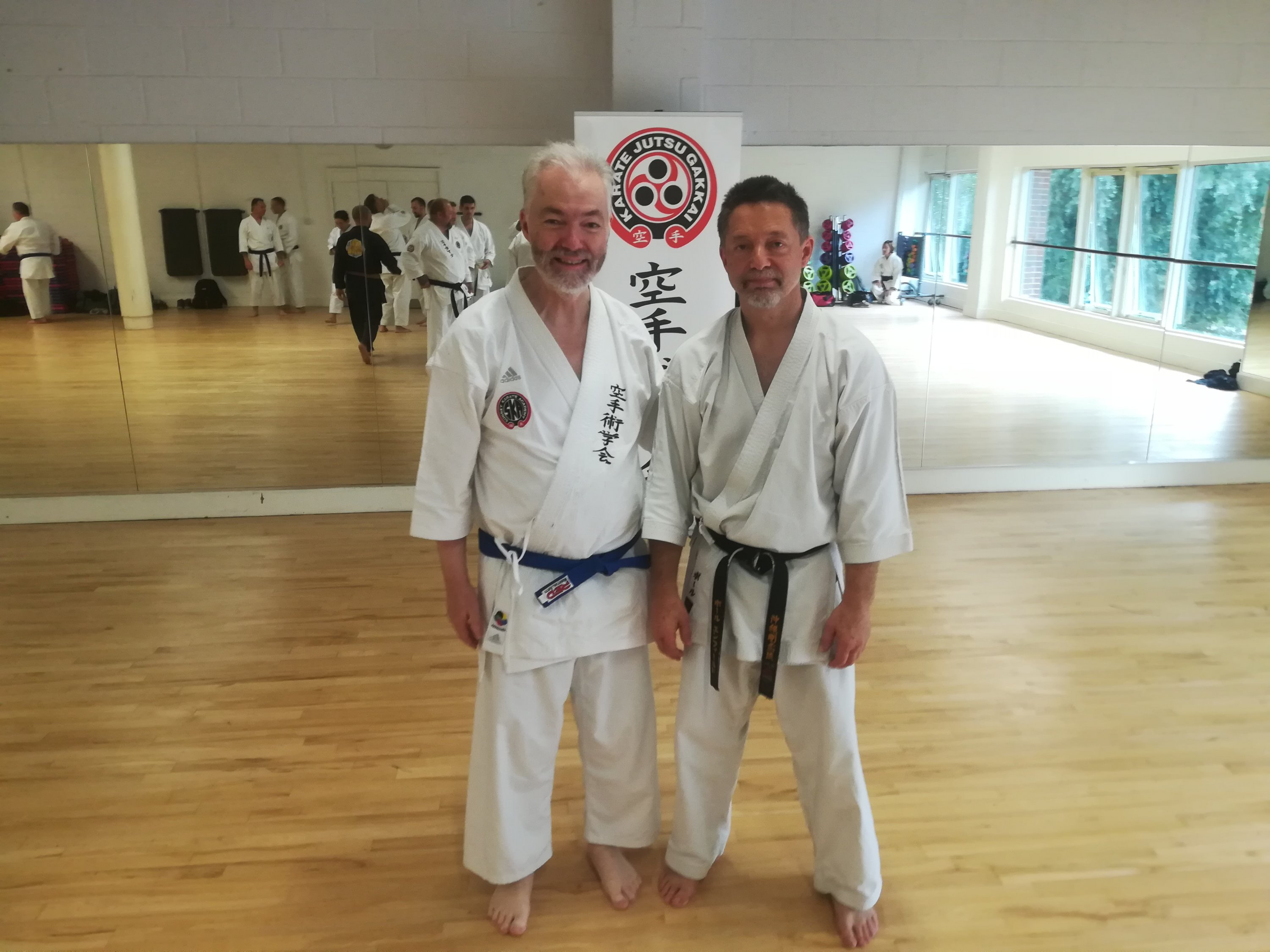Andy Lovegrove and Kyoshi Paul Enfield